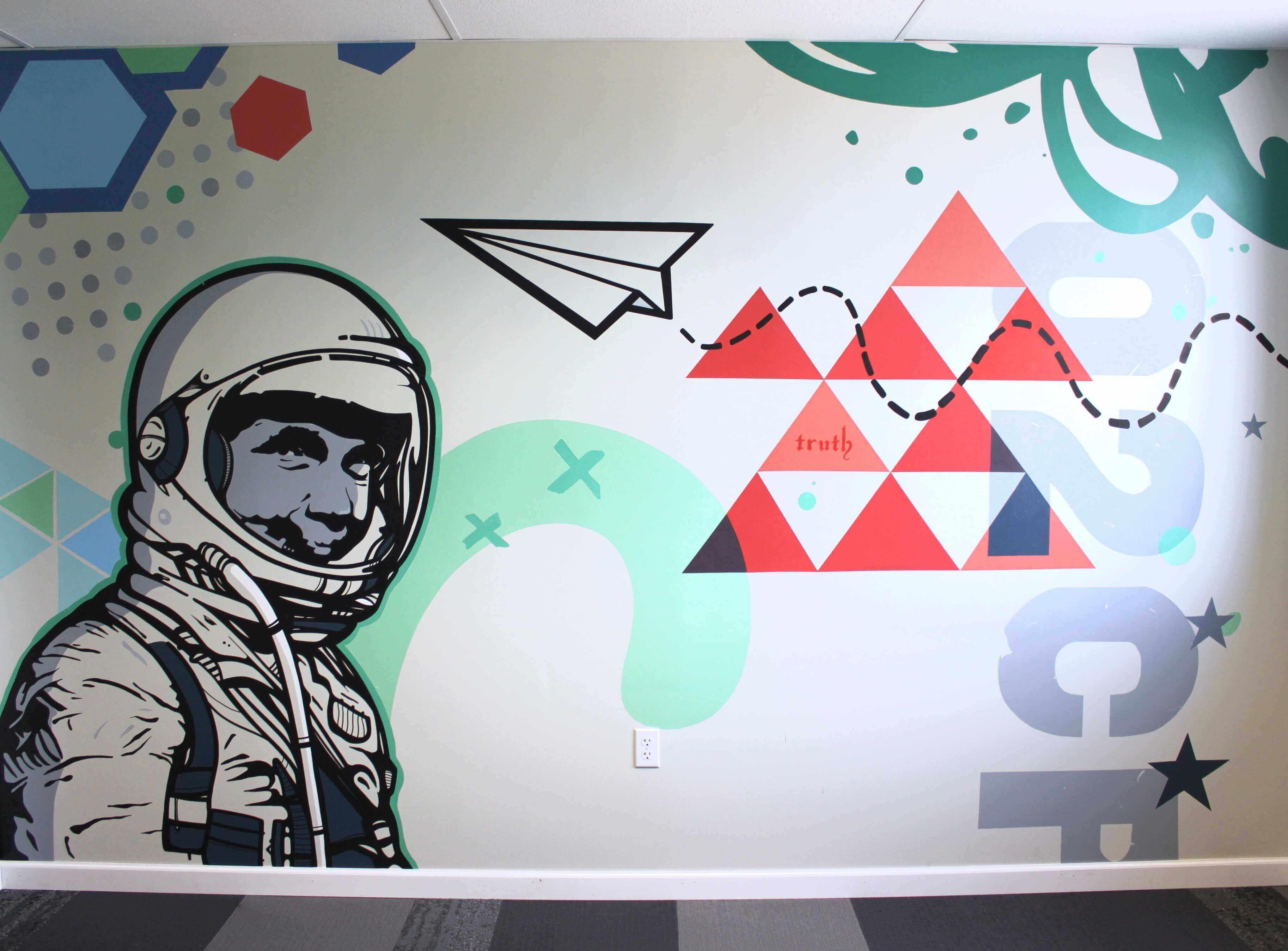 Mike Johnston Mural